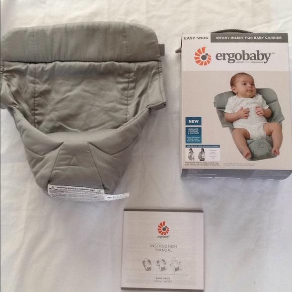 Ergo Accessories Baby Easy Snug Insert Poshmark